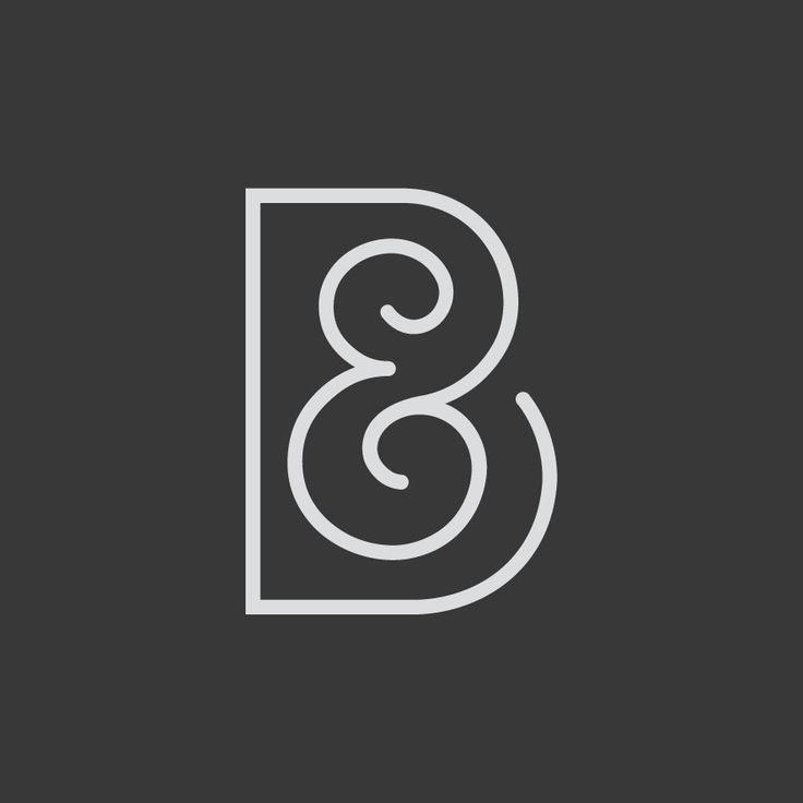Logo Design. Ben & Becka. Designed by White is Black.