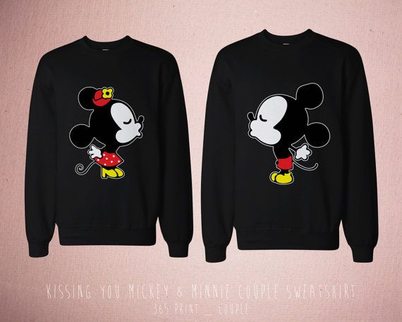 Disney Couple Matching Shirts  Cute Couples by 365inlovedotcom, $45.99