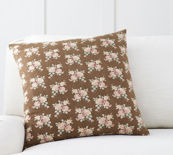 Emma Print Pillow Cover