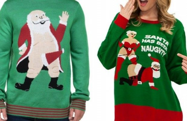inappropriate christmas sweaters feat #christmas #sweater #holidays