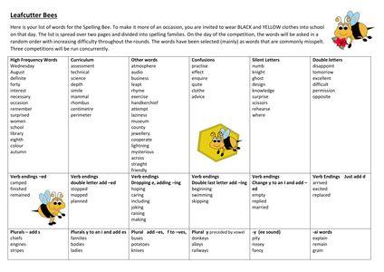 Spelling Bee updated.docx
