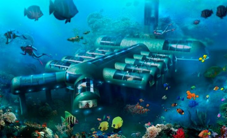 Así será el primer hotel submarino