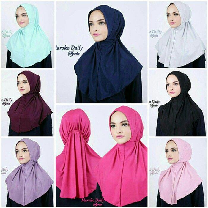 Jilbab instan / hijab Maroko Daily Syria