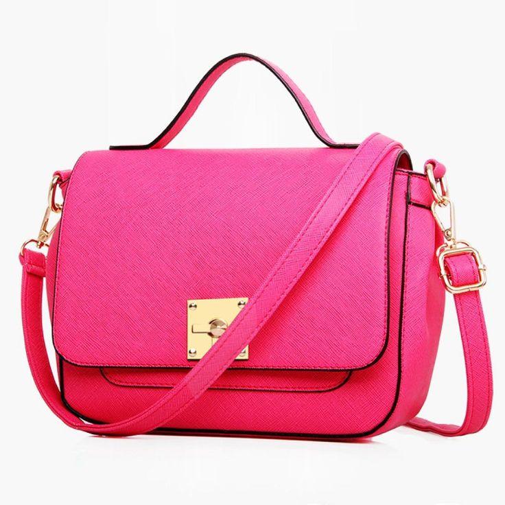 Aliexpress.com : 신뢰할수 있는  가죽 여성 핸드백 공급업체Pretty Style에서 2015 여성의 핸드백 새로운 패션 핸드백 및 고체 커버 crossbody 가방 PU 가죽 고품질의 유명 브랜드 토트 백 가방을 구매합니다.