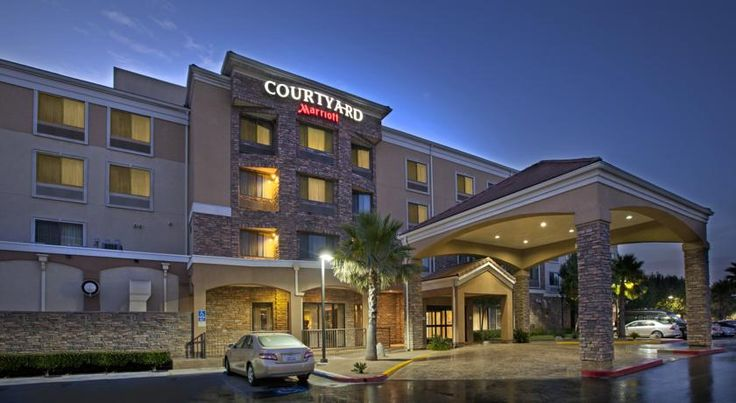 Courtyard by Marriott Rancho Cucamonga Rancho Cucamonga This Rancho Cucamonga hotel is within 5 minutes' drive of the Ontario Mills Mall. The hotel features an indoor pool and a flat-screen TV in every room.  Rooms at the Courtyard by Marriott Rancho Cucamonga have a coffee machine and a refrigerator.