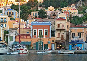 I could live here in Symi Greece