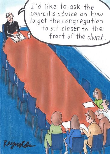 church seating dilemma. #Lutheran #Humor