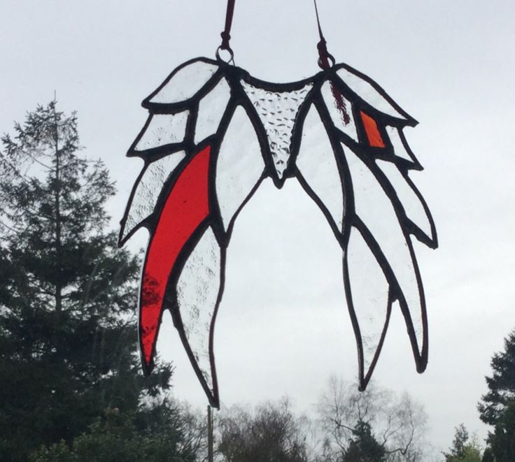 Angel Wings - A little naughty with the red flash!