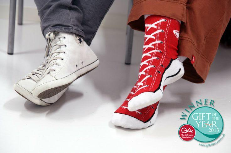 Sneaker Socks - Morsomme sokker som ser ut som sneakers