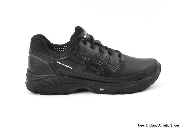 Asics women's Gel-Foundation Workplace shoes size 6 Black Onyx Silver New  in Box