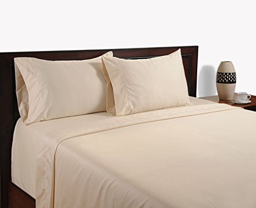 Color Sense The Complete 600 Thread Count Sheet Set King Ivory ** You can find more details by visiting the image link.