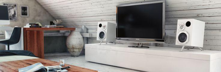 Reflector Audio Bookshelf Loudspeakers