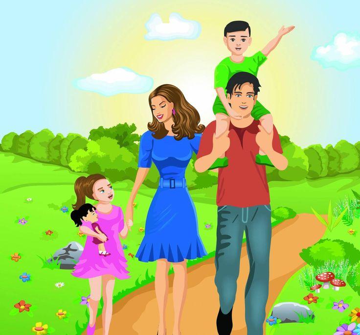 Открытки родитель и ребенок