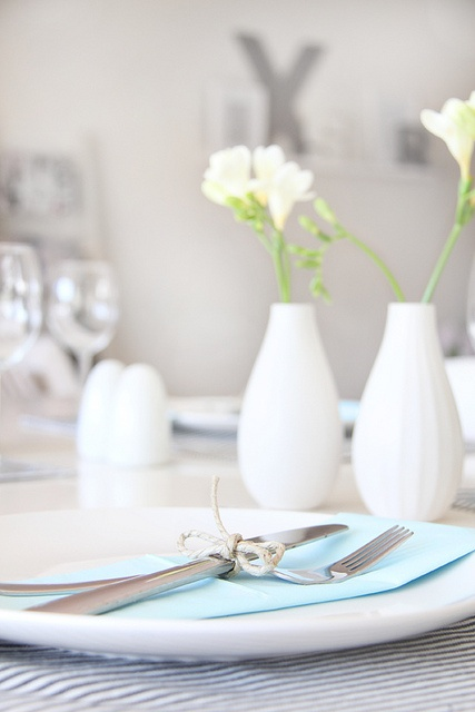 Blue table setting | Flickr - Photo Sharing!