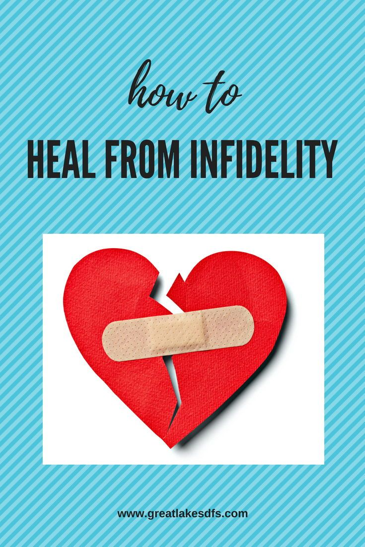 recovering from infidelity and divorce