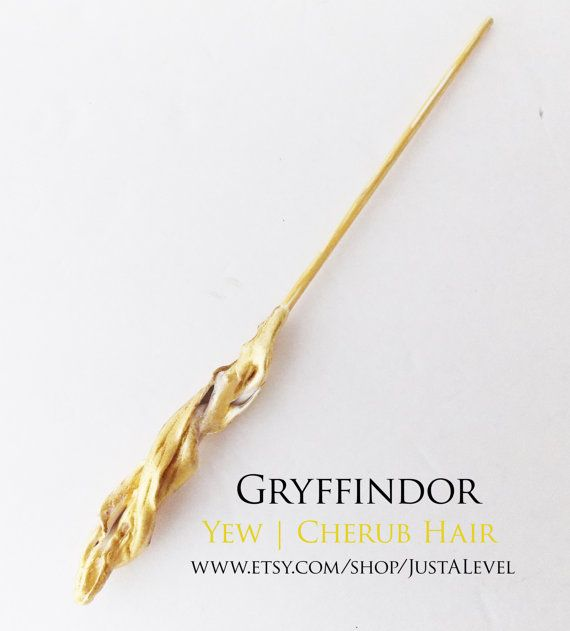 Golden Cloak Harry Potter Inspired Wand Gryffindor by JustALevel