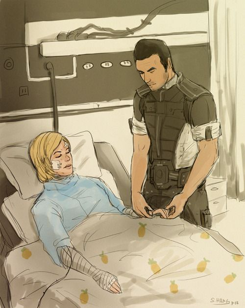 Kaiden after rescuing Shep.