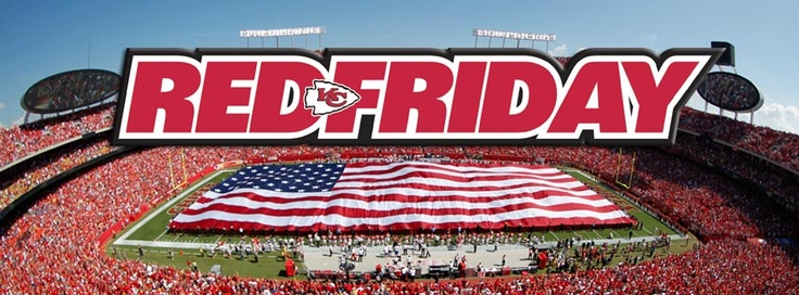 KC Chiefs - Every friday before a chiefs game...the entire city wears red..and then on sunday Arrowhead is a SEA of RED