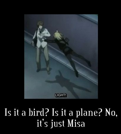 death note misa...O.o don't touch me.