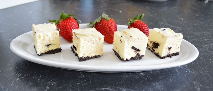 Cookies and Cream Cheesecake. Find the recipe at http://www.whatscookingella.com/blog/cookies-and-cream-cheesecake