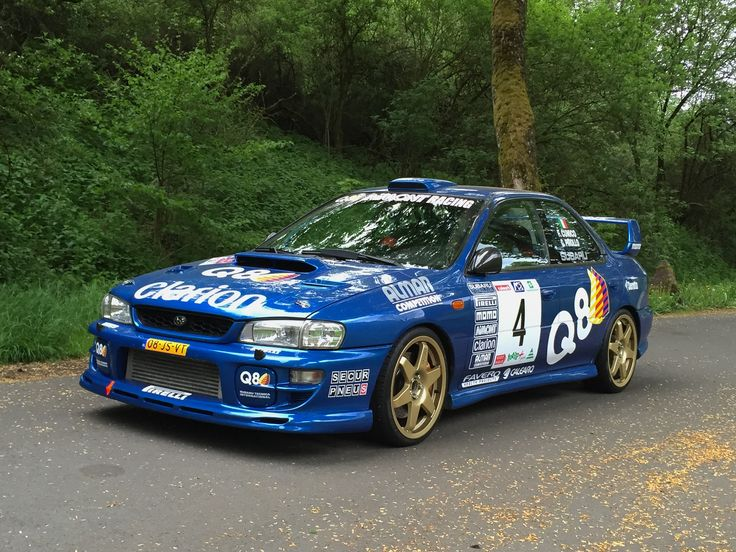 Q8 Impreza - Cunico - Winner Mille Miglia 1999