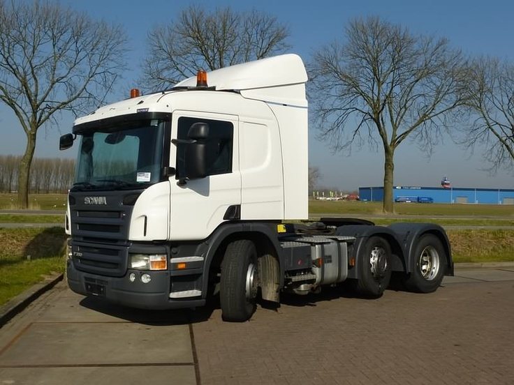 For sale: Used and second hand - Tractor unit SCANIA P 380