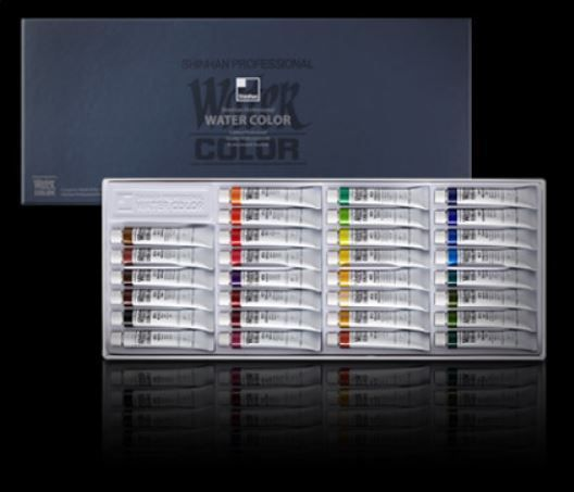 Shinhan Watercolor Paint 30 Colors set 7.5ml Tube Professional Artist Grade #Shinhan