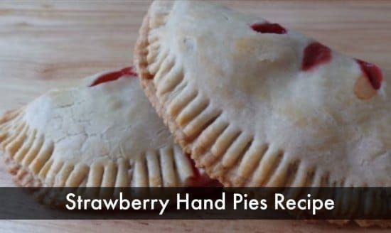 Baked strawberry hand pies will be perfect to have as a snack or dessert after a meal. These will not be hard to make as you just need to follow the recipe.