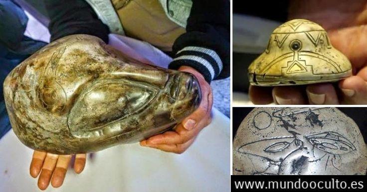 Son estos antiguos artefactos aztecas evidencia de vida extraterrestre?
