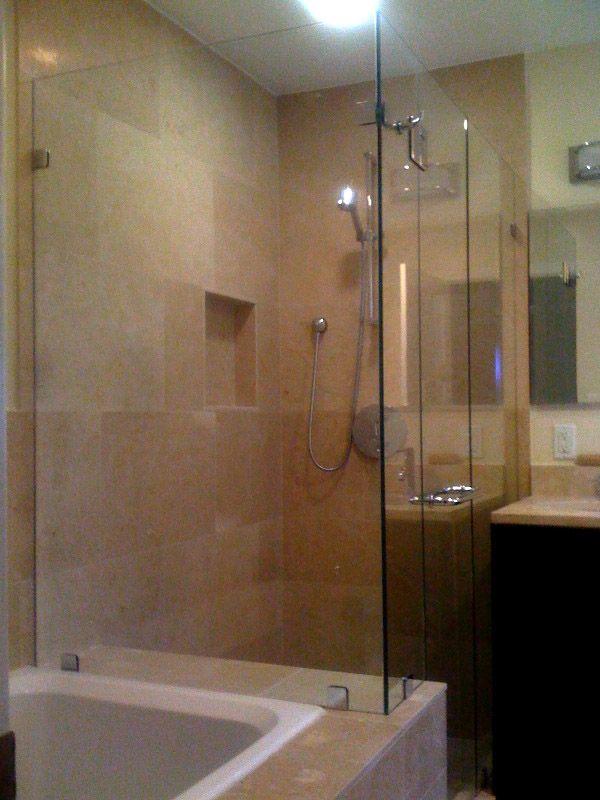 Frameless Shower Enclosure