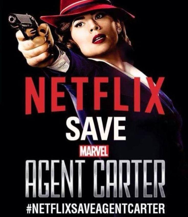 #Netflixsaveagentcarter sight the petition here: https://www.change.org/p/netflix-save-agent-carter-bring-her-to-netflix
