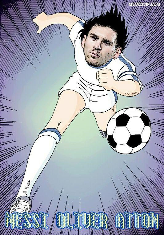 Meme Messi Oliver Atton.