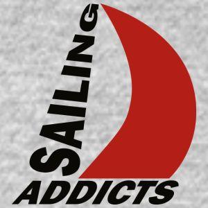 long sleeve black logo Sailing Addicts TM