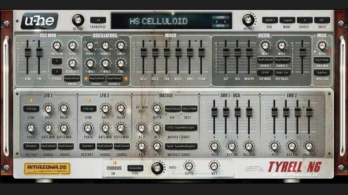 Sintetizador Análogo gratuito Tyrell N6 V3