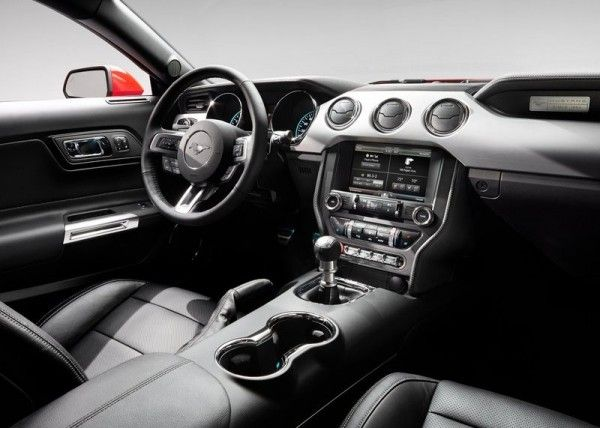 2015 Ford Mustang GT Interior 600x428 2015 Ford Mustang GT Complete Reviews