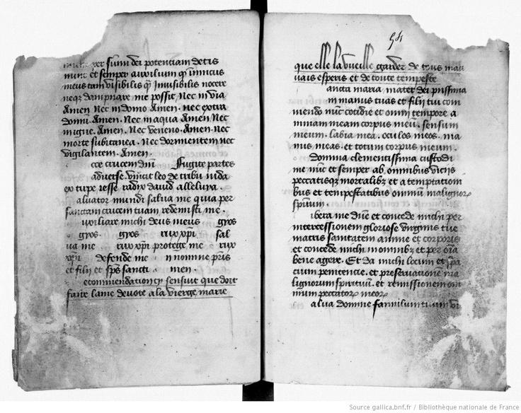 XIe siècle. Gallica © Bibliothèque nationale de France