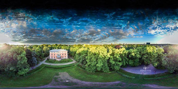 panoramy 360 stopni z powietrza