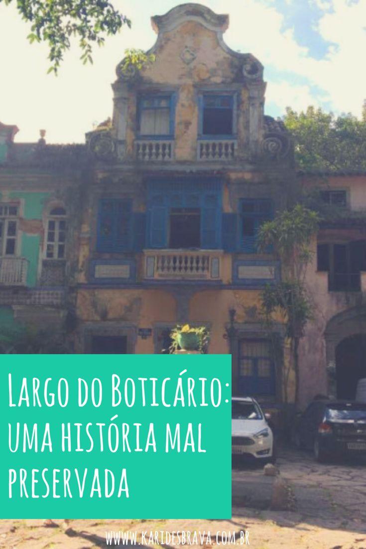 Visita ao Largo do Boticário, no Cosme Velho, na Zona Sul do Rio de Janeiro. Viagem, passeio, Rio de Janeiro, história.