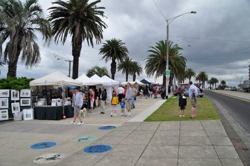 The Esplanade Market, St Kilda, Melbourne