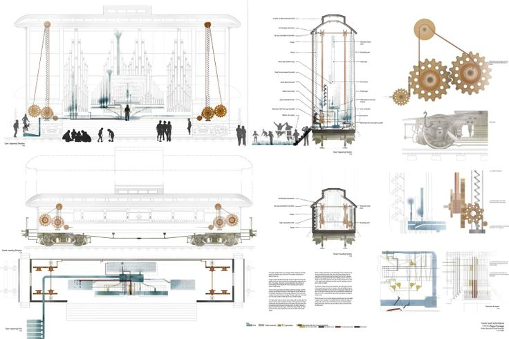 SARABEN ACADEMIA_Class of 2010 | Paula Fernandez and Robert Symonds :: CHOO: The Great Central Railway / Leicester School of Architecture, DMU - tutors: Sara Shafiei and Ben Cowd