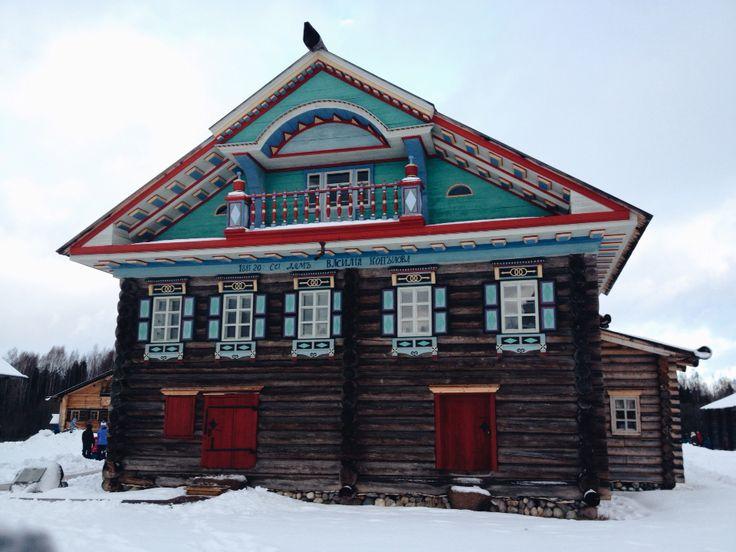 Семёнково. Старинный дом