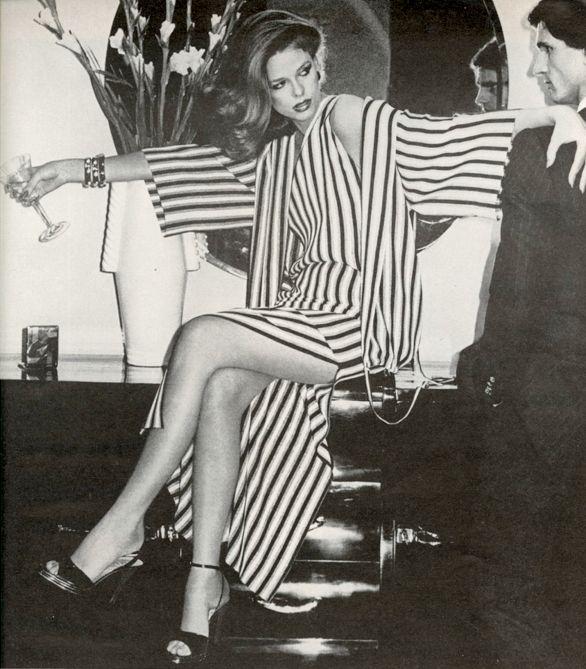 Dior - Photo Chris Von Wangenheim, 1976, lisa Taylor Tony Spinelli, Vogue.