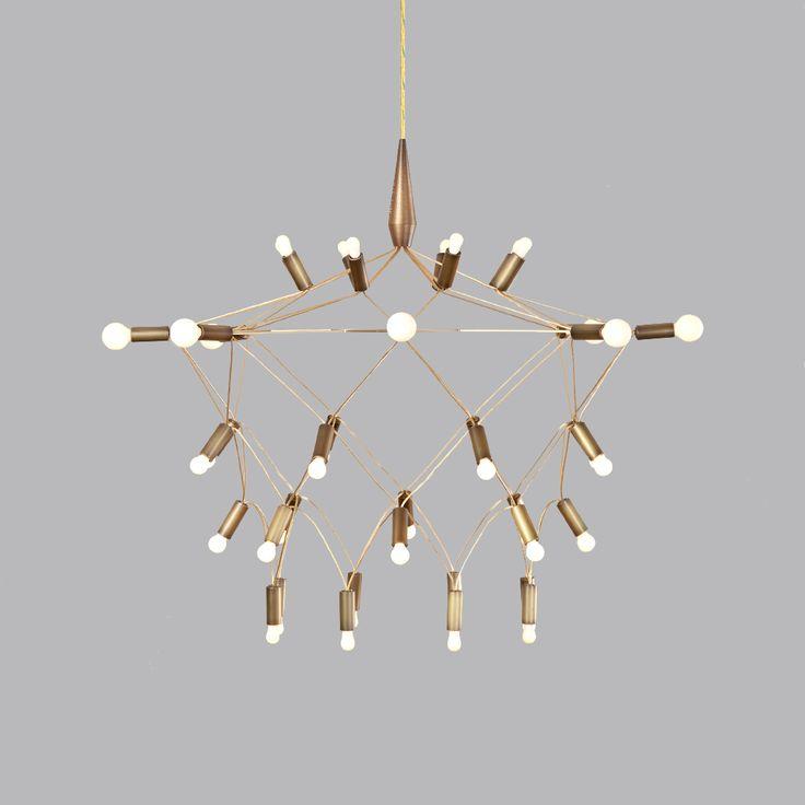 Orbit 35 bronze chandelier bronze chandelierchandelier lightingchandelierspendant lightsunique