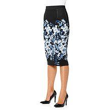 City Dressing Floral Print Tube Skirt