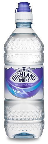 Highland Spring Still - Sports Bottle