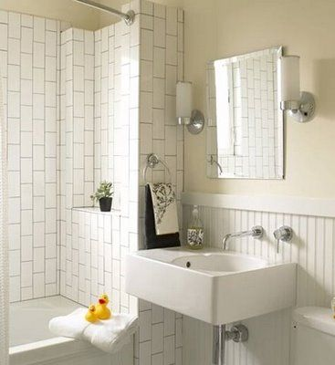 White Subway Bathroom Tile 106 best white subway tile bathrooms images on pinterest | room