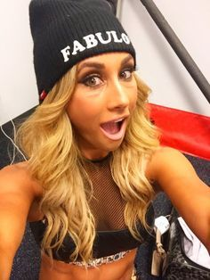 Carmella Backstage Before Her Smackdown Live Debut #Carmella #WWE ...