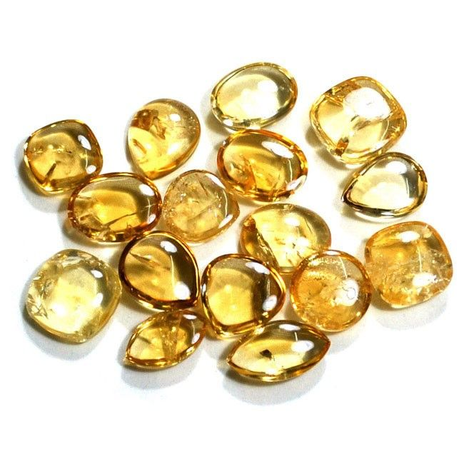 Citrine Wholesale Gemstone Lot From Brazilian Mines