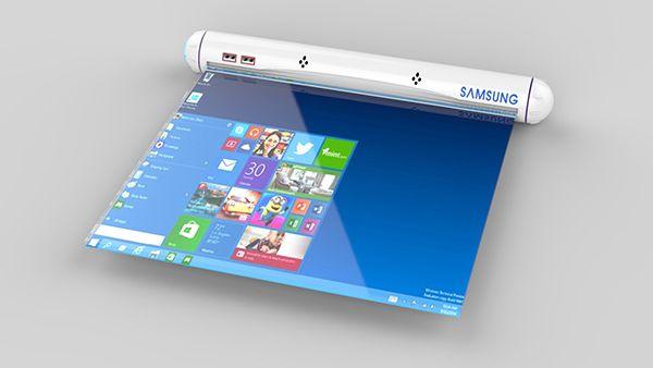 Des écrans flexibles, nous en voyons de plus en plus les prototypes. Aussi, le designer Sungmin Lee a imaginé une tablette tactile Samsung mettant en application les avantages de ce type d'écrans.