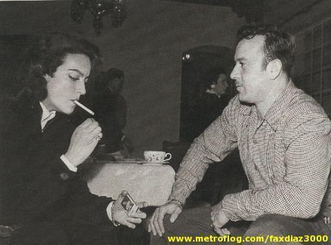 Maria Felix con Pedro Infante.